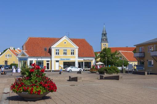 Free Stock Photo of Skagen Centrum, Denmark
