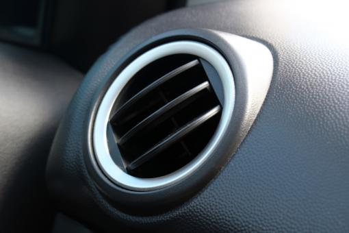 Free Stock Photo of Modern car dashboard air vent