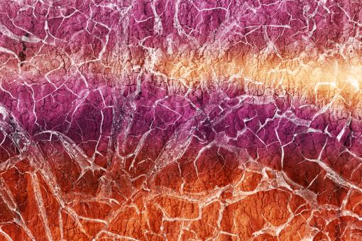 Free Stock Photo of Candy Earth Cracks