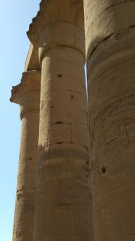 Free Stock Photo of Luxor Ancient Pillars