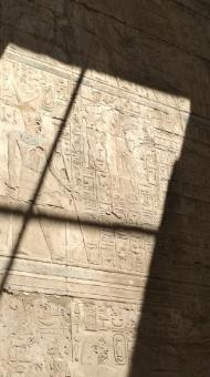 Free Stock Photo of Luxor Ancient Wall with Egyptian Glyphs
