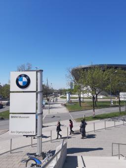Free Stock Photo of BMW center and museum in Munich, Germany