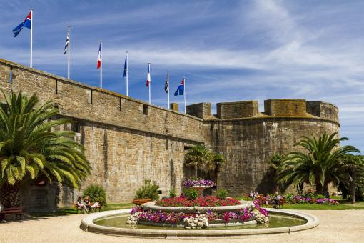 Free Stock Photo of Saint Malo Fortress
