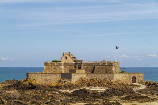 Free Stock Photo of Fort National - Saint Malo