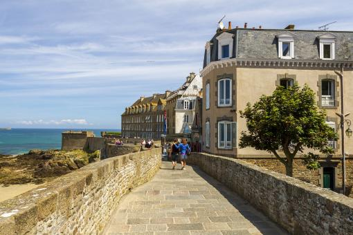 Free Stock Photo of Saint Malo Fortress - France
