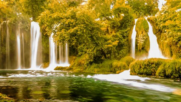 Free Stock Photo of Duden Waterfalls in Antalya