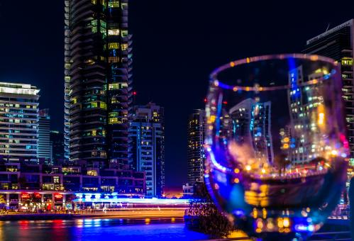 Free Stock Photo of Night Shot in Dubai