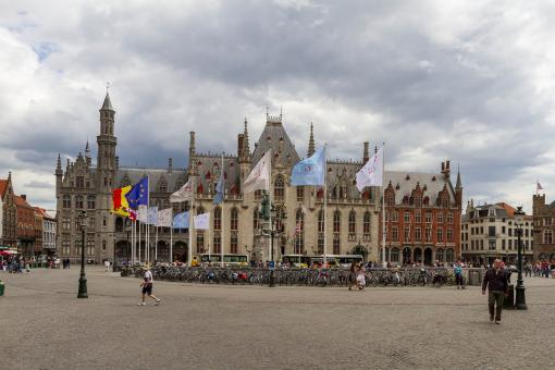 Free Stock Photo of Bruges City Center