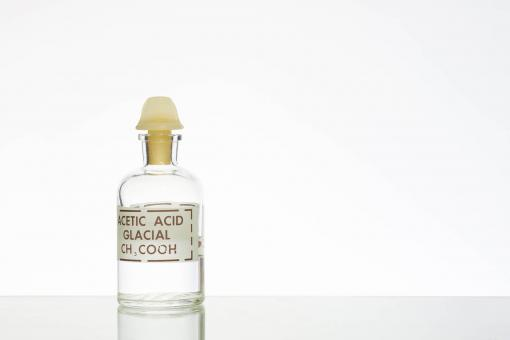 Free Stock Photo of Bottle of Acetic Acid