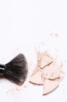 Free Stock Photo of Powder with Brush