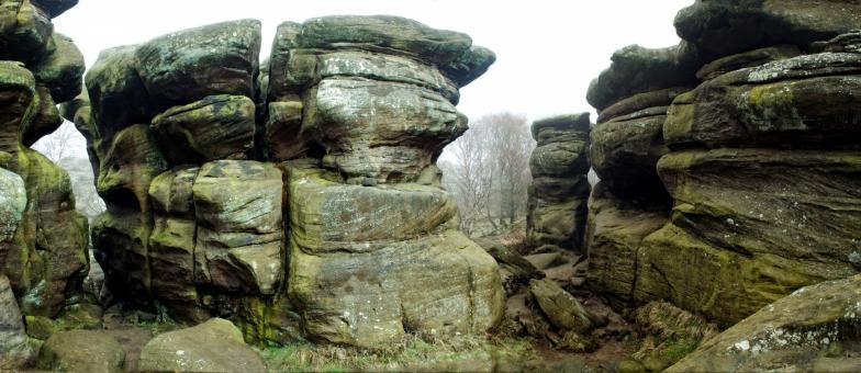 Free Stock Photo of Brimham rocks