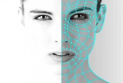Free Stock Photo of Authentication - Biometric Recognition - Woman