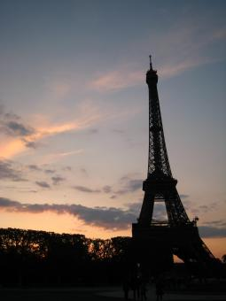 Free Stock Photo of Dusk in Paris