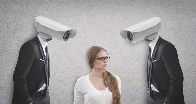 Free Stock Photo of The End of Privacy - Constant Surveillance