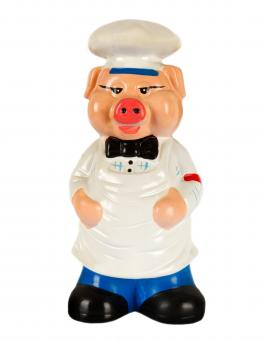 Free Stock Photo of Pig Chef Figurine