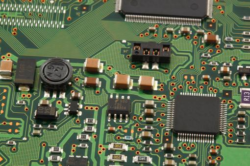 Free Stock Photo of Computer Micro Circuit Board