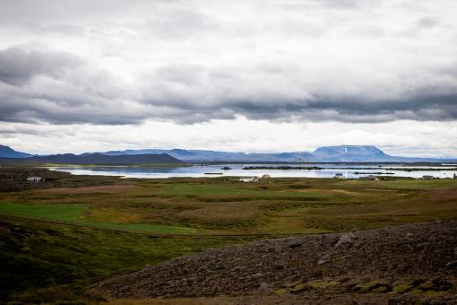Free Stock Photo of Myvatn Lake in Iceland