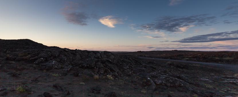 Free Stock Photo of Panorama Lunar Surface at Reykjanes, Iceland
