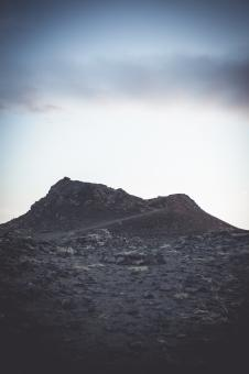 Free Stock Photo of Old Lava Hill in Iceland