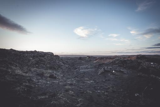 Free Stock Photo of Lunar Like Landscape in Iceland