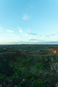 Free Stock Photo of Lava Fields at Reykjanes Peninsula, Iceland