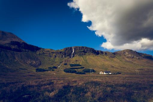 Free Stock Photo of Icelandic Country Landscape