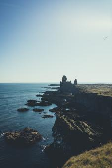 Free Stock Photo of Hellnar Coast - Iceland