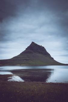 Free Stock Photo of Kirkjufell Iceland