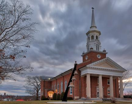Free Stock Photo of Gettysburg Lutheran Chapel