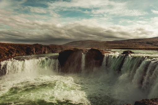 Free Stock Photo of Godafoss - Iceland