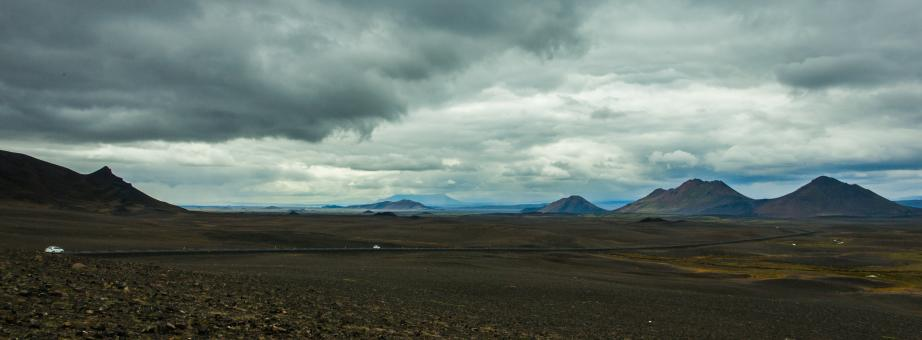 Free Stock Photo of Icelandic Highlands Panorama
