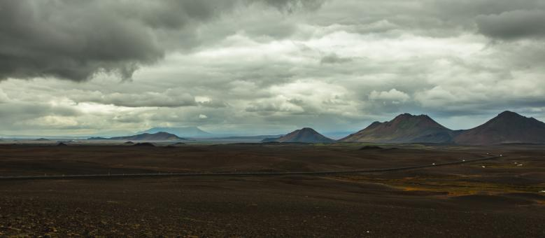Free Stock Photo of Panorama of Modrudalsheidi in Iceland
