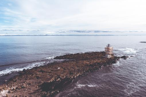 Free Stock Photo of Old Lighthouse of Akranes, Iceland