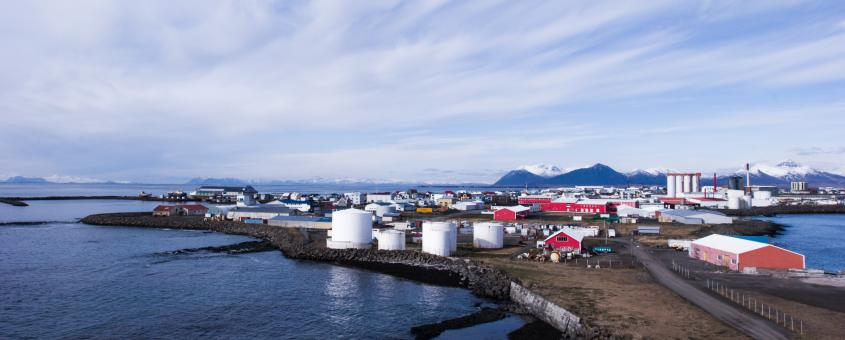 Free Stock Photo of Akranes Village in Iceland