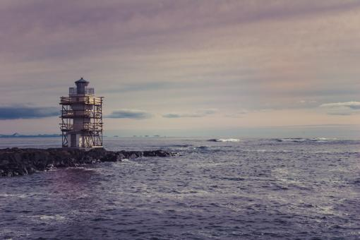 Free Stock Photo of Akranes Old Lighthouse