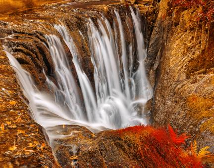 Free Stock Photo of Welsh Furnace Falls