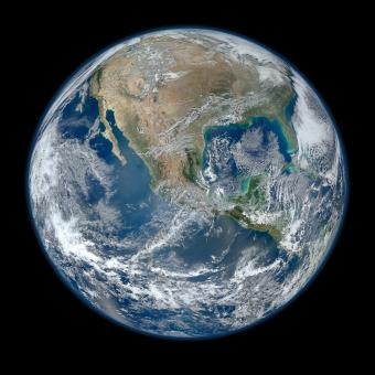 Free Stock Photo of Blue Marble Earth