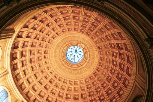 Free Stock Photo of Dome Ceiling