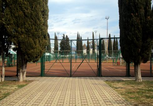 Free Stock Photo of Tennis Court