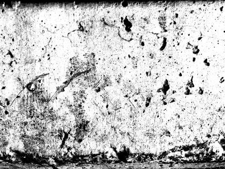Free Stock Photo of Worn Grunge Wall Texture - Monochrome