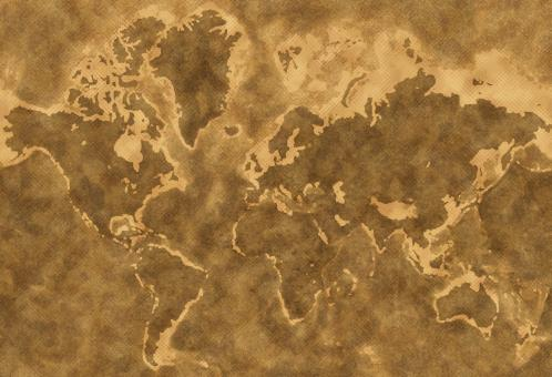 Free Stock Photo of Grunge earth map texture