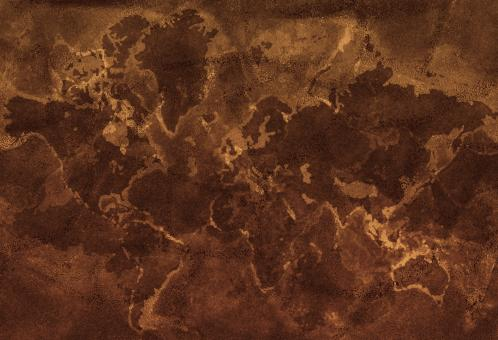Free Stock Photo of Earth map paper texture