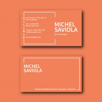 Free Stock Photo of Colored Business Card Layout