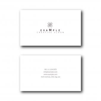 Free Stock Photo of Elegant Business Card Layout