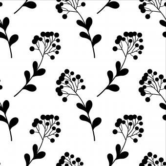 Free Stock Photo of Natural Seamless Floral Pattern