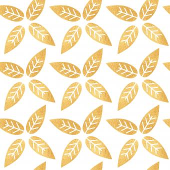 Free Stock Photo of Yellow Leaves Seamless Vector Pattern