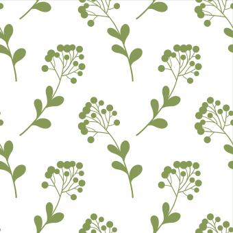 Free Stock Photo of Green Floral Nature Seamless Pattern