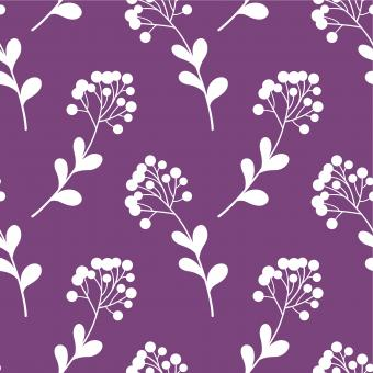 Free Stock Photo of Purple Floral Nature Seamless Pattern