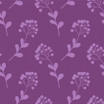 Free Stock Photo of Violet Floral Seamless Pattern