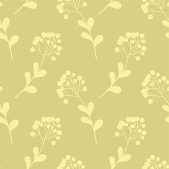Free Stock Photo of Yellow Floral Seamless Pattern